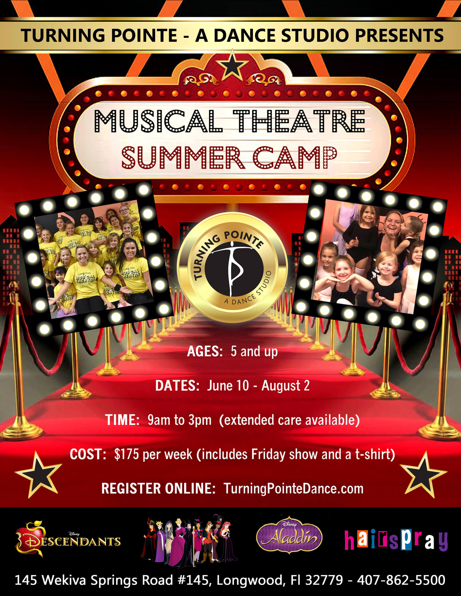 Turning Pointe Musical Summer Camp
